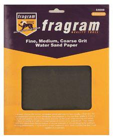 Fragram - Sand Paper Water Assorted - 4 Piece