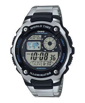 Casio Mens AE-2100WD-1AVDF World Time Digital Watch