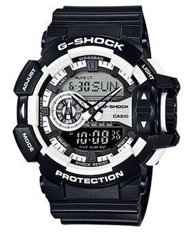 Casio Mens GA-400-1ADR G-Shock Anadigital Watch