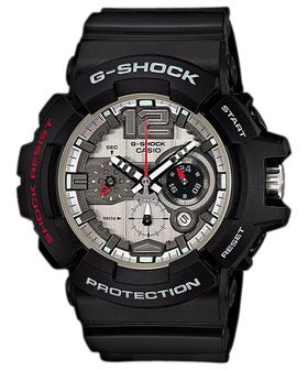 Casio Mens GAC-110-1ADR G-Shock Anadigital Watch
