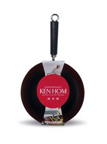 Ken Hom Performance 28cm  Non-Stick Carbon Steel Wok