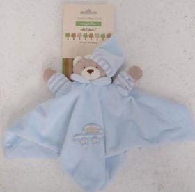Snuggletime - Classical Plush Bear Dudu - Blue