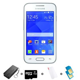 Samsung Trend Neo 4GB 3G White - Bundle 1 incl. R2000 airtime + 1.2GB Starter Pack + Accessories