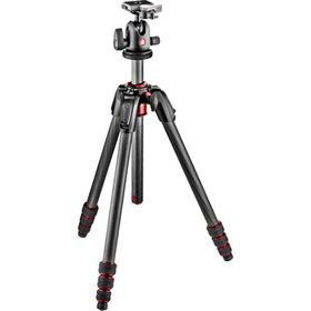 Manfrotto MK190GOC4TB-BH New 190 Go! Carbon 4-Section Tripod Kit with 496RC2 Ball Head