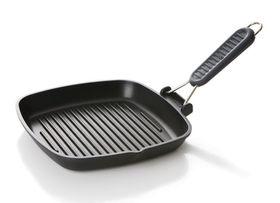 Risoli - Saporelax Grill Pan 36 x 26 - Grey Handle