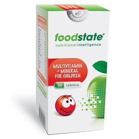 Foodstate Multivitamin & Minerals for Children -30s
