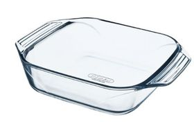 Pyrex - Optimum Glass Square Roasters - 2.4 Litre