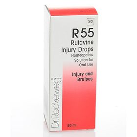 Dr. Reckeweg Rutavine Injury Drops - 50ml