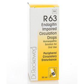 Dr. Reckeweg Endangitin Impaired Circulation Drops - 50ml
