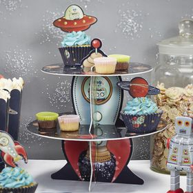 Ginger Ray Space Adventure Cake Stand