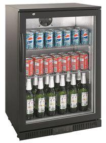 Elegance - Beverage And Beer Cooler - Black