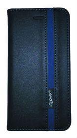 Scoop Executive Folio For LG G4 - Black & Blue