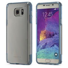 Puregear Samsung Galaxy Note 5 Slim Shell Pro - Clear & Blue