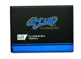 Scoop Battery For Samsung Galaxy S4 Mini