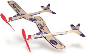 Guillow's Sky Streak Twin Pack Motorplane