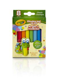 Crayola 8ct Modeling Clay - Bright Colours