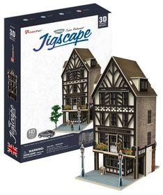 Cubic Fun Tudor Restaurant UK - 44 Piece