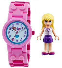 ClicTime Lego Friends Stephanie Watch with Minifigure