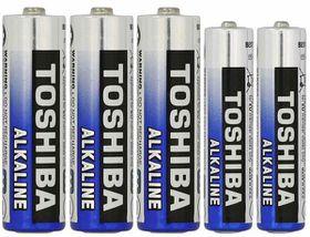 Toshiba Batteries - AA x 3 & AAA x 2