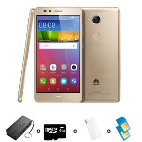 Huawei GR5 16GB LTE Gold - Bundle 3 incl. R1000 Airtime + 1.2GB Starter Pack + Power Bank + SD Card + Screen Protector