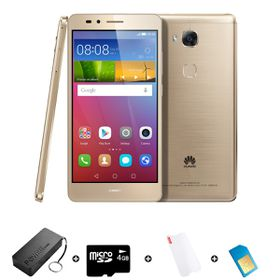 Huawei GR5 16GB LTE Gold - Bundle 6 incl. 1.2GB Starter Pack + Power Bank + SD Card + Screen Protector