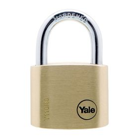 Yale - 40mm Brass Padlock