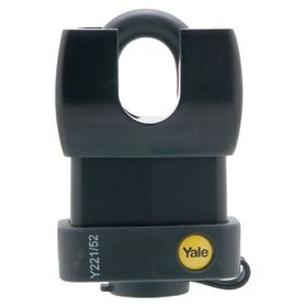Yale - 52mm All Weather Closed Shackle Padlock