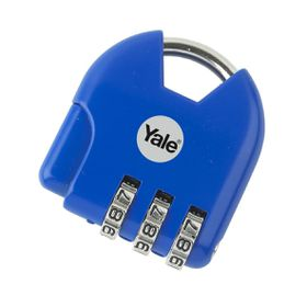Yale - Children's Combination Padlock Active Style - Blue