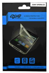 Scoop Screen Protector for Sony Xperia Z3 Twin Pack