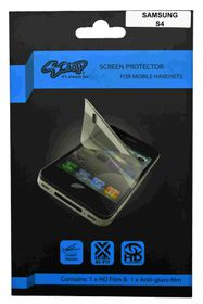 Scoop Screen Protector for Samsung Galaxy S4 Twin Pack