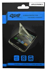 Scoop Screen Protector for Apple iPhone 5 Twin Pack