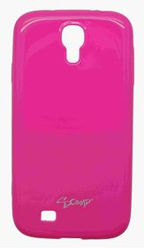 Scoop Progel Samsung S4 Case with Screen Protector - Pink