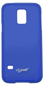 Scoop Progel Samsung S5 Mini Case with Screen Protector - Blue