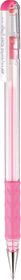 Pentel Hybrid Milky Gel Grip 0.8mm Pen - Pink
