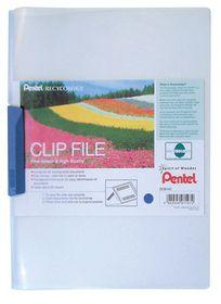 Pentel Clip File - Blue