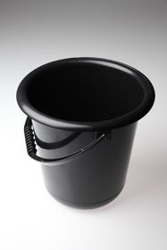 Gizmo - 9 Litre Plastic Bucket - Black