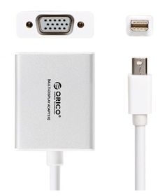 Orico Mini Display to VGA Adapter - Silver
