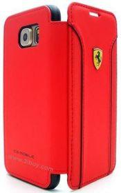 Ferrari Fiorano for Samsung S6 Booktype Leather - Red