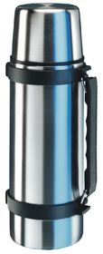 Isosteel - 0.75 Litre Quick Slim With Handle - Silver