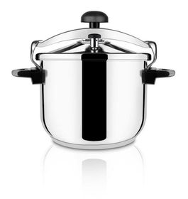 Taurus - Ontime Classic Stainless Steel Pressure Cooker - 6 Litre