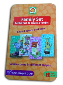 The Purple Cow Family Set Card Game
