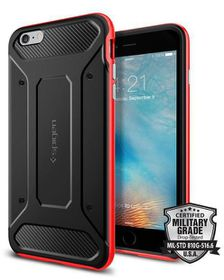 SPIGEN Neo Hybrid Case for iPhone 6s Plus - Red