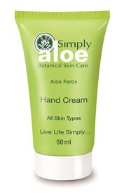 Simply Aloe Hand Cream - 50ml
