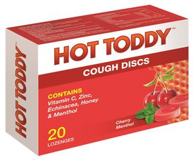 Hot Toddy Cough Discs