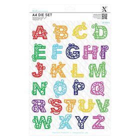 Xcut Dies - Filigree Alphabet
