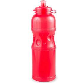 Lumoss - Sportec 4 - 750ml Water Bottle - Semi Transparent - Red