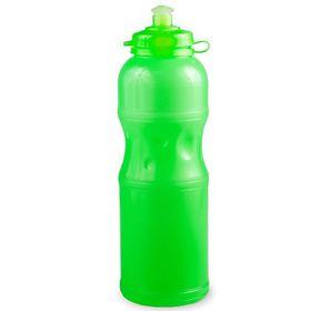 Lumoss - Sportec 4 - 750ml Water Bottle - Semi Transparent Neon Green