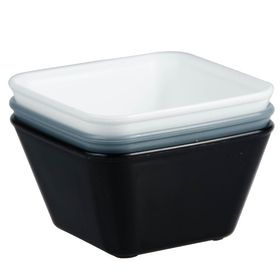 Lumo - Mini Square Bowl 90 x 90mm - Grey
