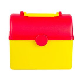 Lumo - Treasure Chest Lunch Box - Yellow & Red