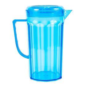 Lumo - Plastic Jug with Lid - Turquoise